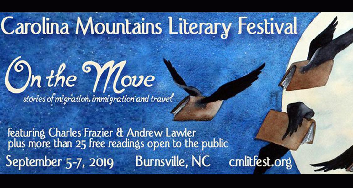 9/5-9/7 Carolina Mtns LiteraryFestival