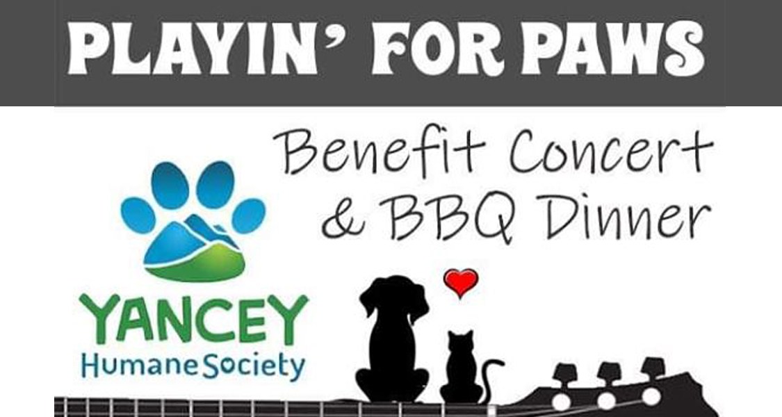 11/9 Playin' for Paws Benefit Concert and BBQ