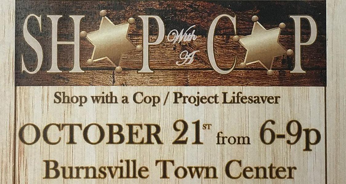 10/21 Shop With A Cop BBQ &Bluegrass