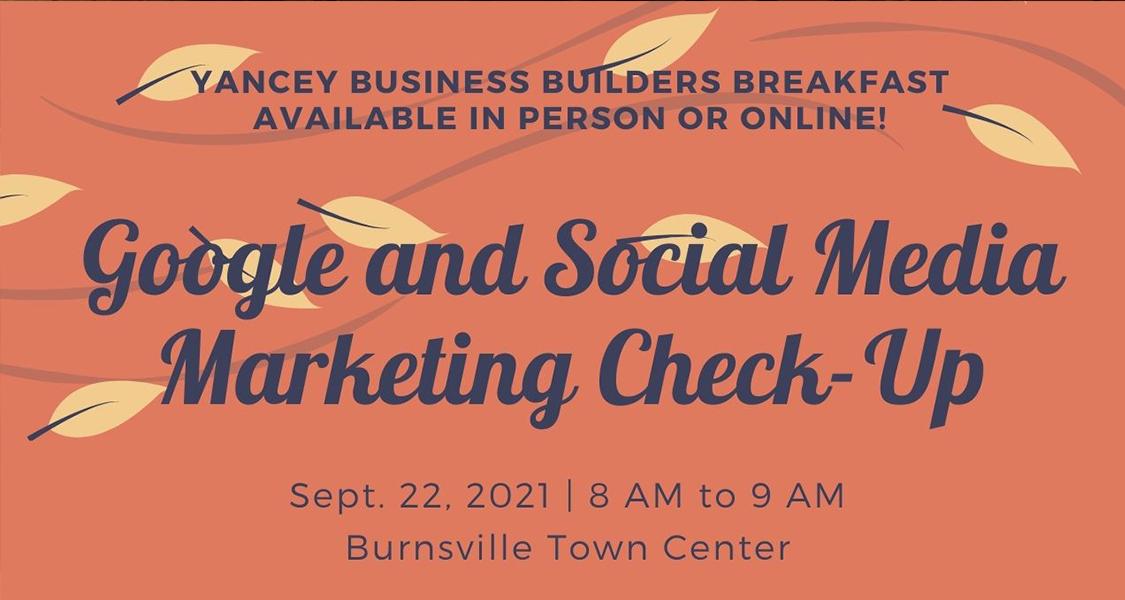 9/22 Business BuildersBreakfast